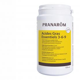 Ácidos Grasos Esenciales 3, 6 y 9 - 120 cápsulas | Pranarôm