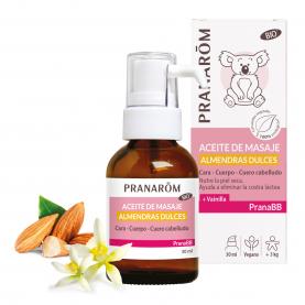 Aceite de masaje - Almendras dulces - 30 ml | Pranarôm