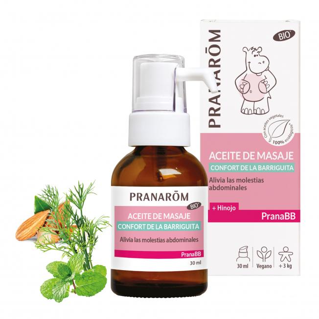 Aceite de masaje - Confort de la barriguita - 30 ml   Pranarôm