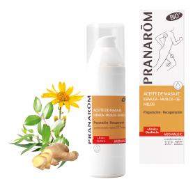 Aceite de masaje - Espalda - muslos - gemelos - 100 ml | Pranarôm