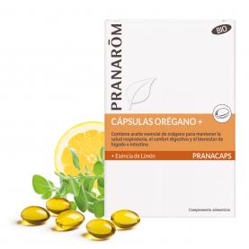 Cápsulas Orégano + - 30 cápsulas | Pranarôm