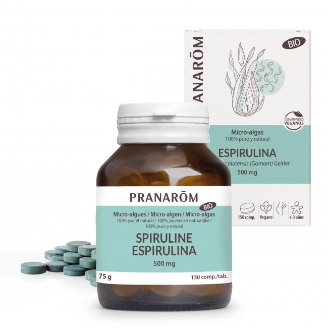 Espirulina - 150 comprimidos | Pranarôm