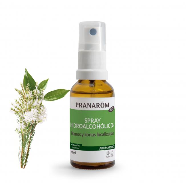 Spray hidroalcohólico+ - 30 ml | Pranarôm