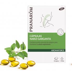 Cápsulas Nariz-Garganta - 30 cápsulas | Pranarôm