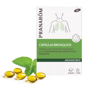 Cápsulas bronquios - 30 cápsulas | Pranarôm