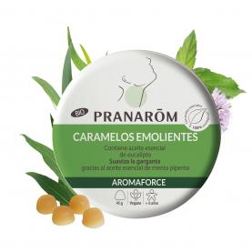 Caramelos emolientes - Menta/Eucalipto - 45 g | Pranarôm