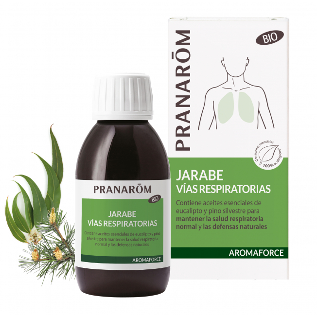 Jarabe - Vías respiratorias - 150 ml   Pranarôm