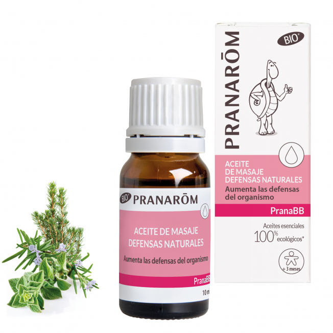 Aceite de masaje - Defensas naturales - 10 ml | Pranarôm