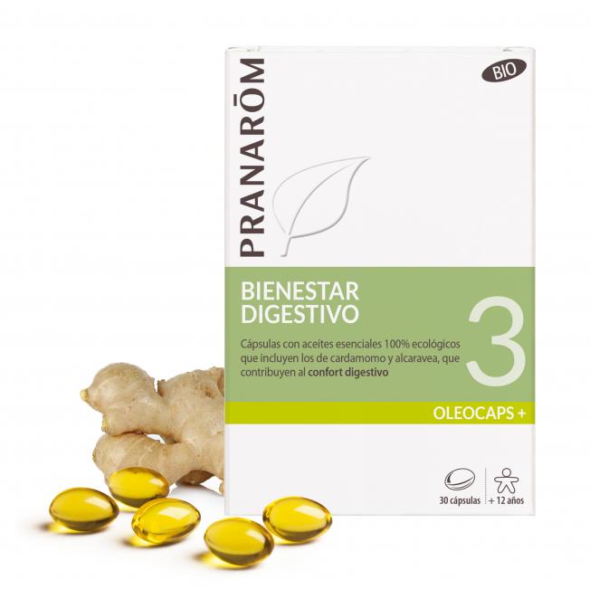 3 - Bienestar digestivo - 30 cápsulas | Pranarôm