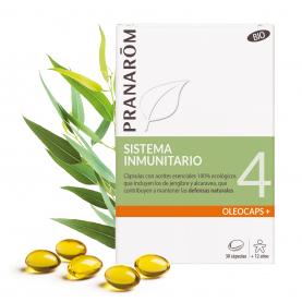 4 - Sistema inmunitario - 30 cápsulas | Pranarôm