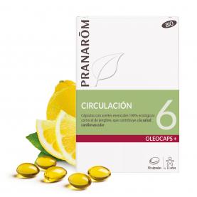 6 - Circulación - 30 cápsulas | Pranarôm