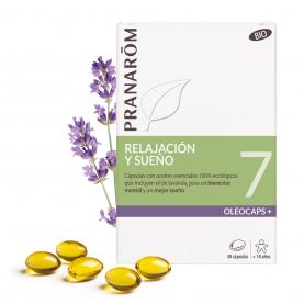 7 - Relajación y sueño - 30 cápsulas | Pranarôm