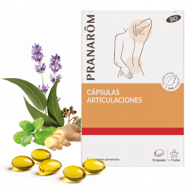 Cápsulas articulaciones - 30 cápsulas | Pranarôm