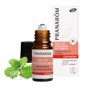 Roll-on - Molestias de cabeza - 5 ml | Pranarôm