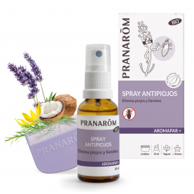 Spray antipiojos (curativo - DM) + lendrera - 30 ml | Pranarôm
