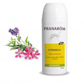 Roll-on corporal Citronela+ - 75 ml | Pranarôm