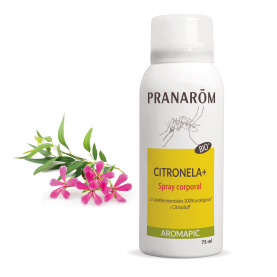 Spray corporal Citronela+ - 75 ml | Pranarôm