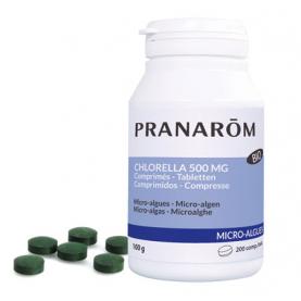 Clorela 500 mg - 200 comprimidos | Pranarôm