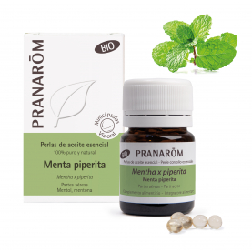 Menta piperita - 60 Minicápsulas | Pranarôm
