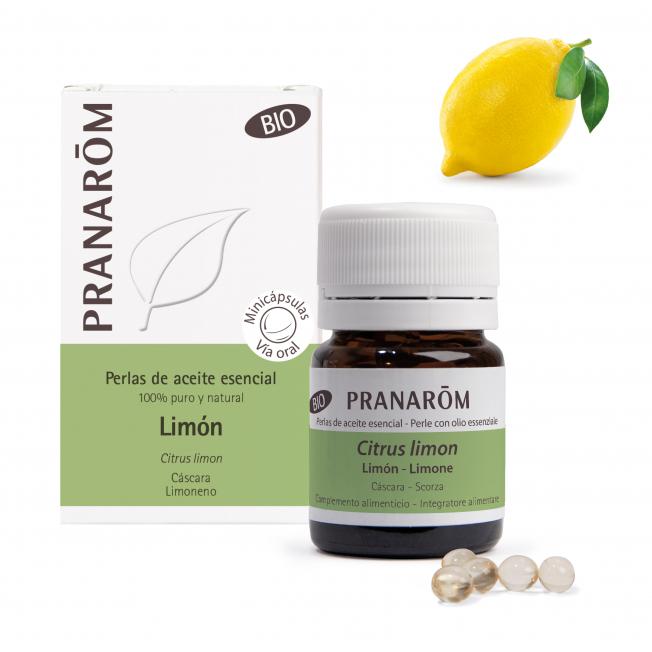 Limón - 60 Minicápsulas   Pranarôm